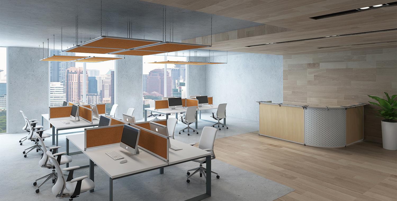 Akustik für Büros