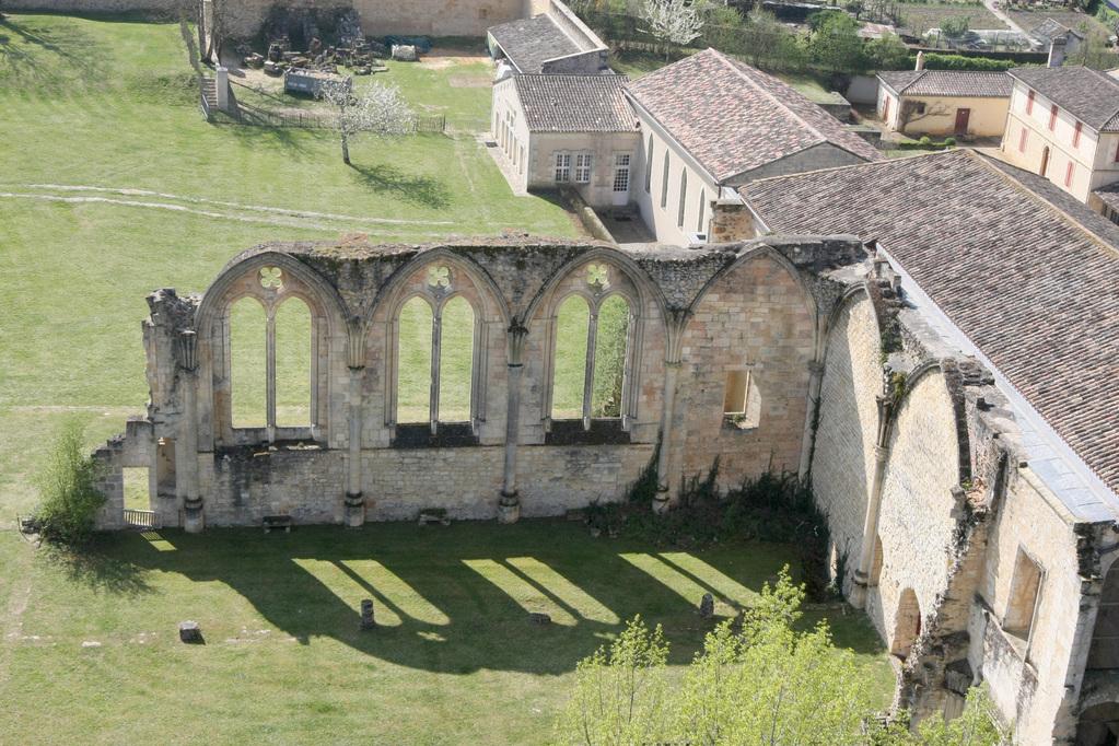 vue panoramique depuis la tour de l'abbaye