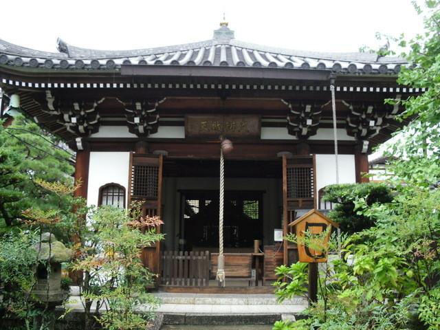 渡月橋への道中のお寺6