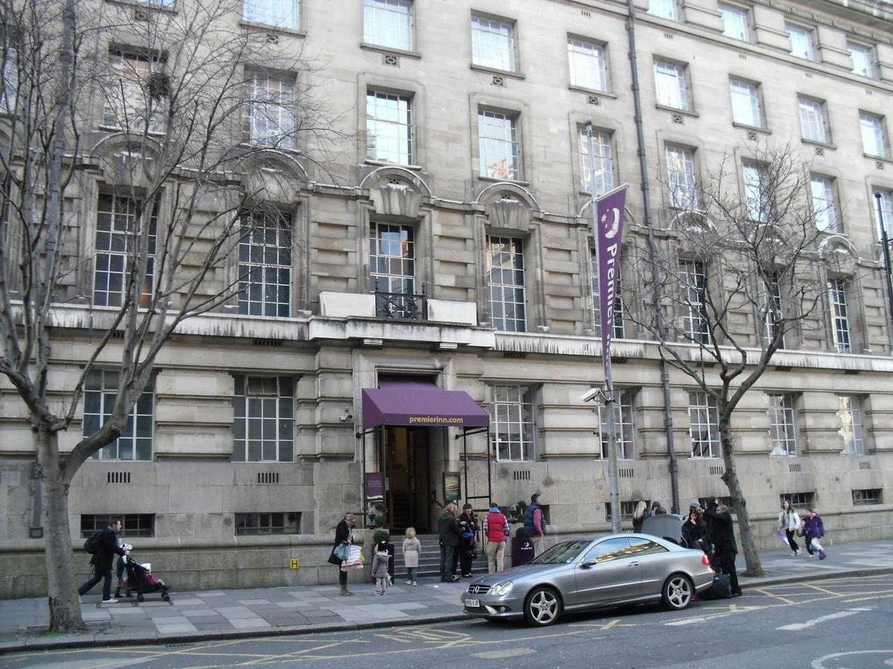 ロンドン・アイ周辺のプレミアロッジ格安ホテルチェーン店1