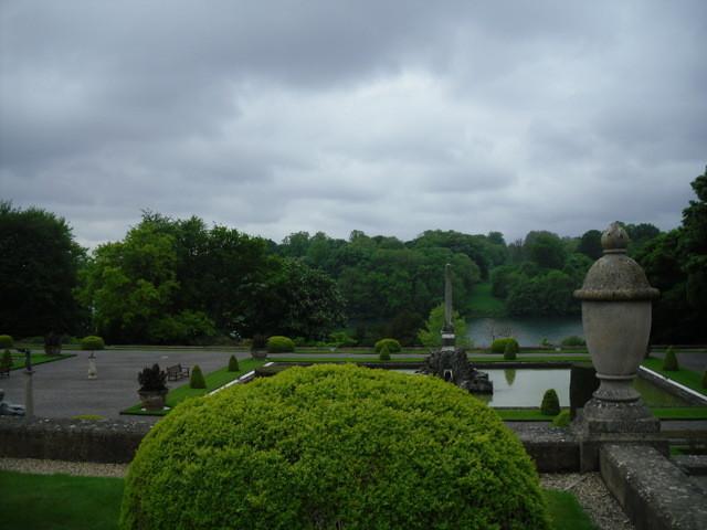 ブレナム宮殿、庭2