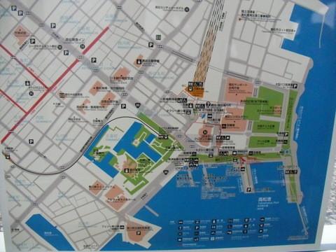 高松駅前・フェリー乗り場4