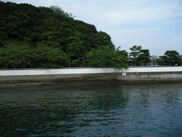 鳥羽・遊覧船からの景色・御木本真珠島