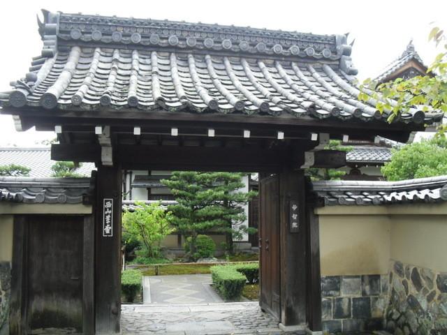 渡月橋から竹林への道中1