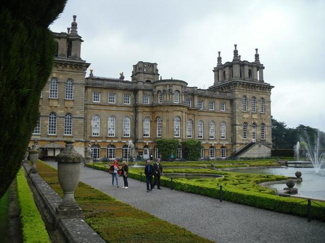 ブレナム宮殿、庭1