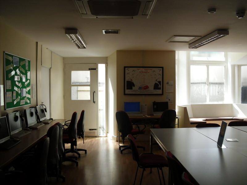 ロンドンのメイン校の教室3