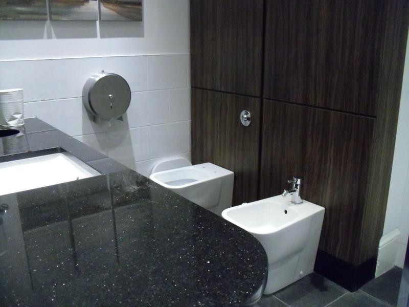 ロンドンのメイン校の寮のトイレ