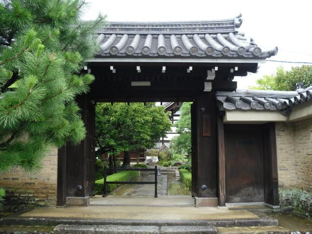 渡月橋への道中のお寺7