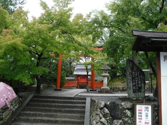 渡月橋への道中のお寺9