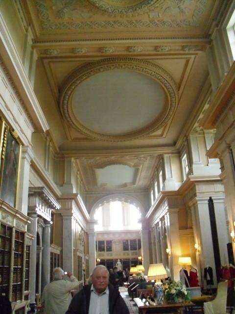 ブレナム宮殿、装飾予定の天井1