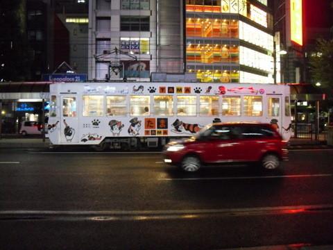 岡山駅前の夜景4