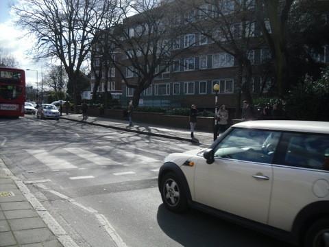 アビーロードの横断歩道