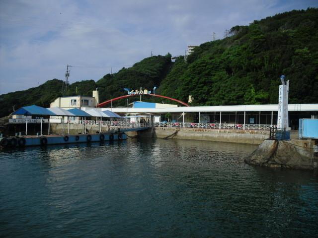 鳥羽・遊覧船からの景色・イルカ島