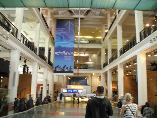 博物館の内部1