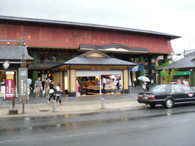 渡月橋への道中の商店街5