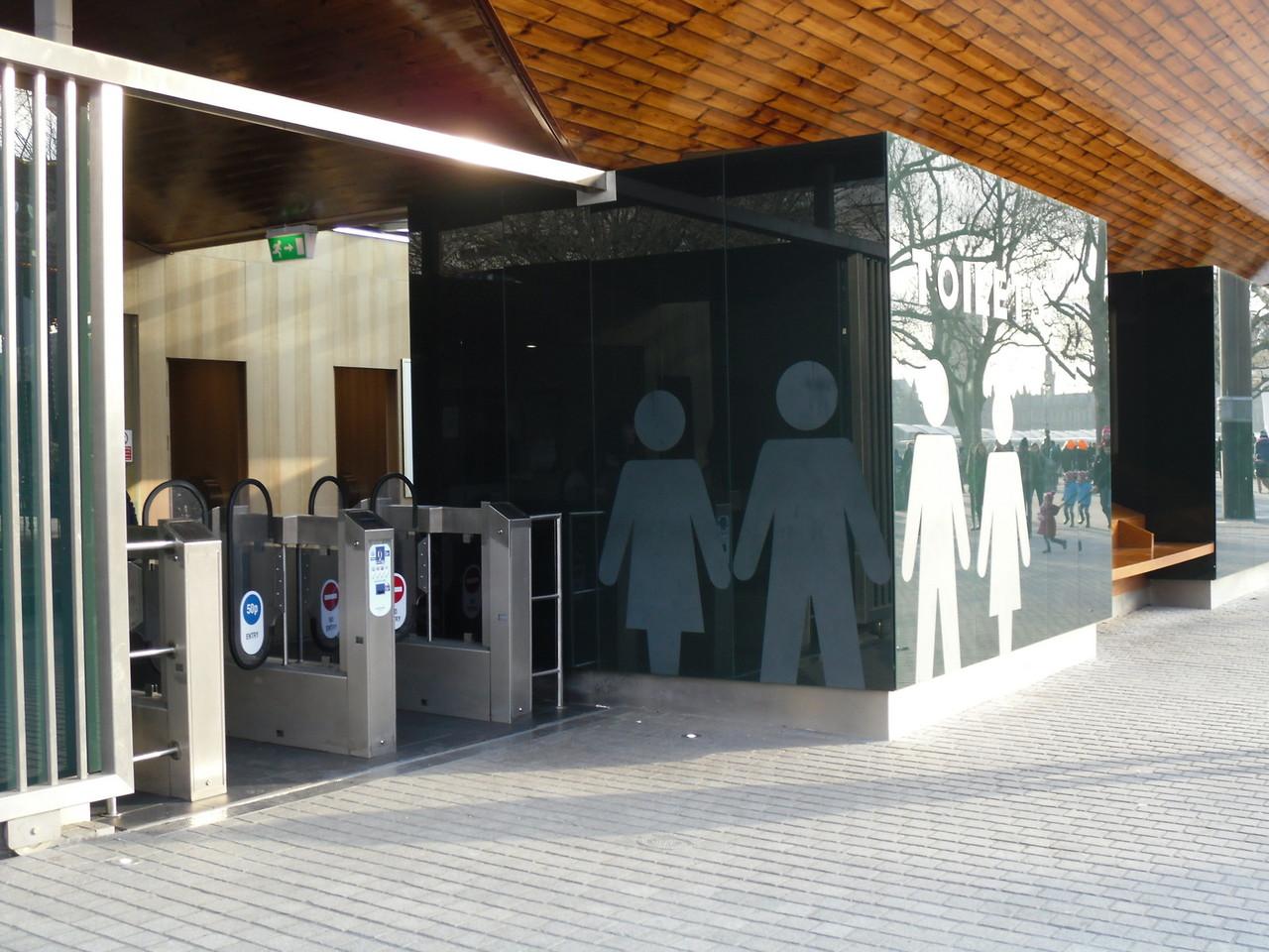 フェスティバルホールからロンドン・アイまでのサウス・バンク散歩道13