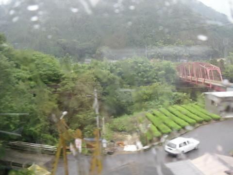 JRワイドビュー飛騨からの山あいの景色3