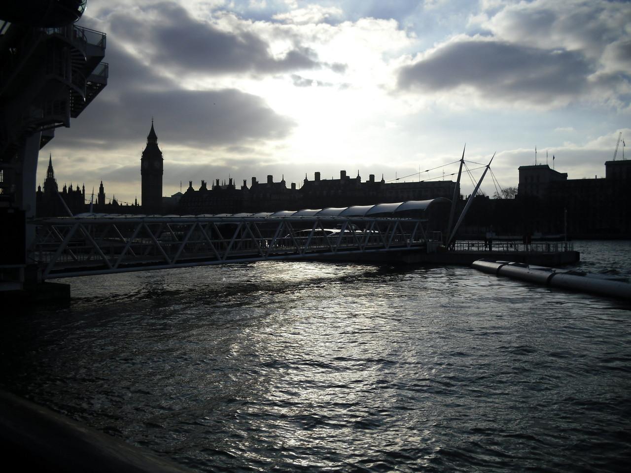 ロンドン・アイ周辺