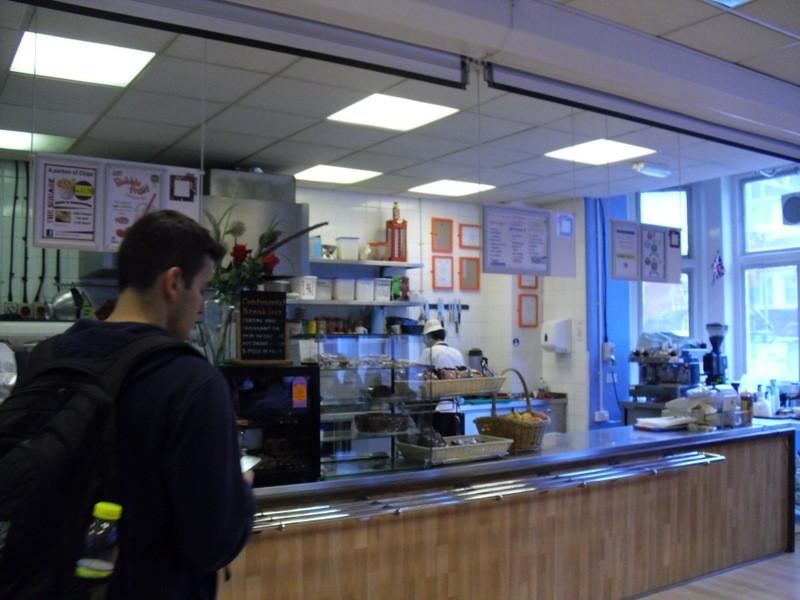 ロンドンのメイン校の食堂