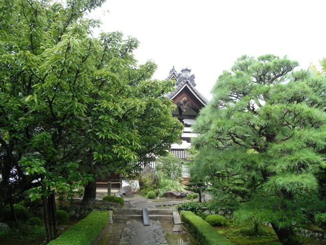 渡月橋への道中のお寺8