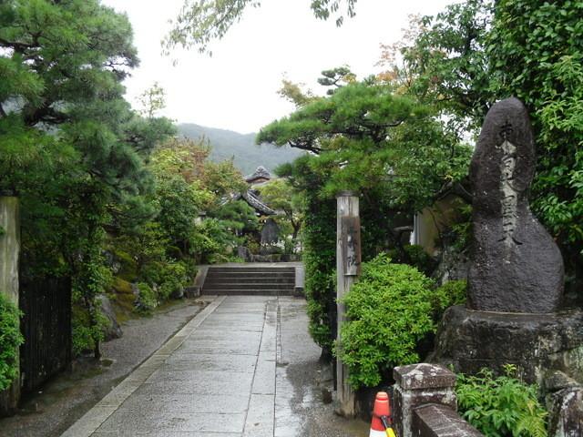 渡月橋への道中のお寺2