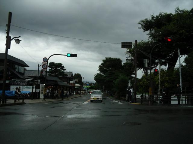 渡月橋への道中の商店街9