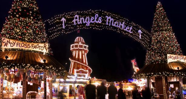 ハイドパークのクリスマス・マーケット4