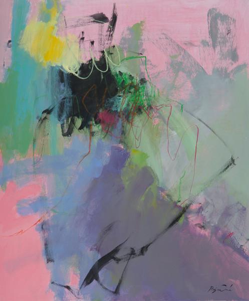 Mélodie des choses 5 (55x46) acrylique