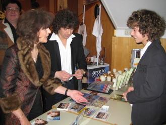 Weihnacht der Stars Helmut und Marita Theil – Marc & Loreen - im Gespräch mit Rico
