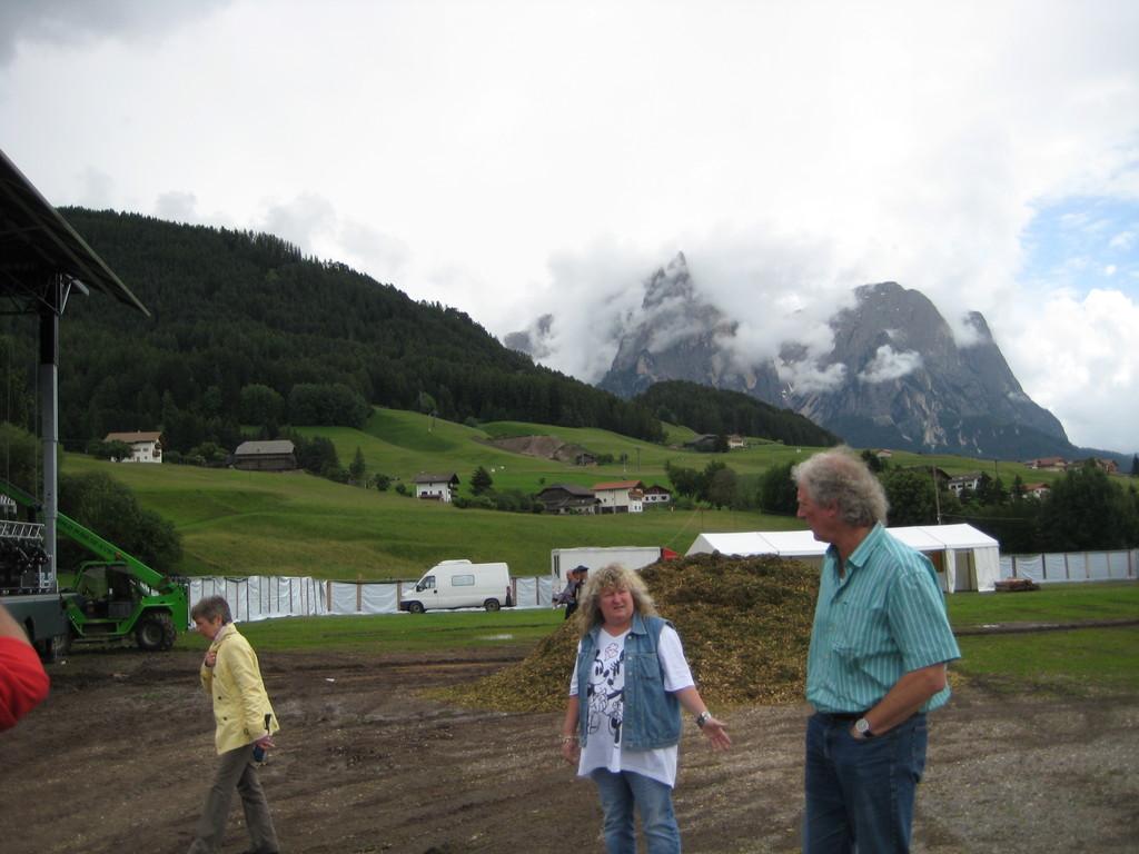 Der Tag vor dem SpatzenOpenAir 2011