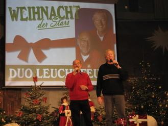 """Weihnacht der Stars  Duo Leuchtfeuer mit meinem Titel """"Ein altmodisches Weihnachtsfest"""""""