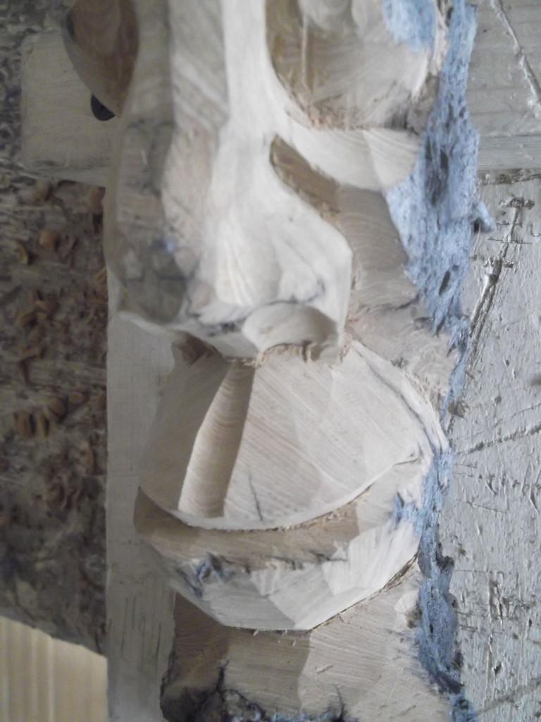 Проработка боковых форм верхней губы придание окончательного вида
