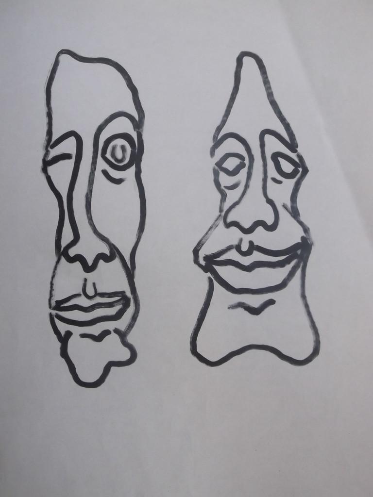 Гиперболизация форм и элементов лица