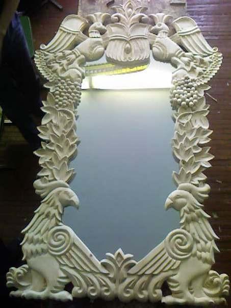 Игай Андрей Юрьевич Рама для зеркала кедр