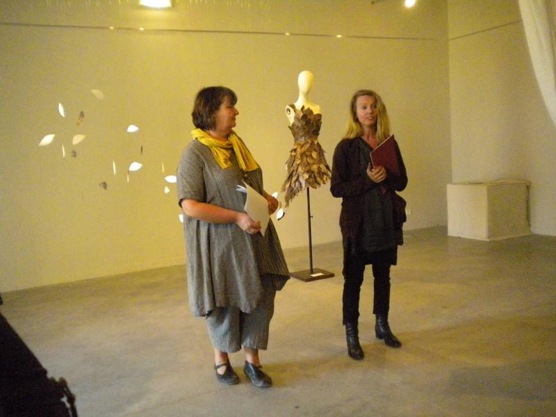 Intervention de Sandrine Rozier sur l'emploi des colorants naturels dans la création de costumes de scène