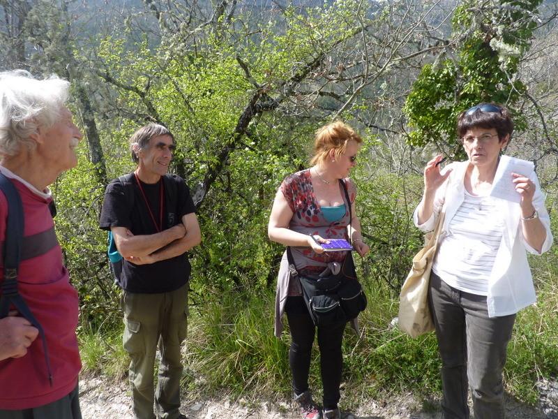 Intervention de Michèle Sinic, passionnée par les plantes à tanin