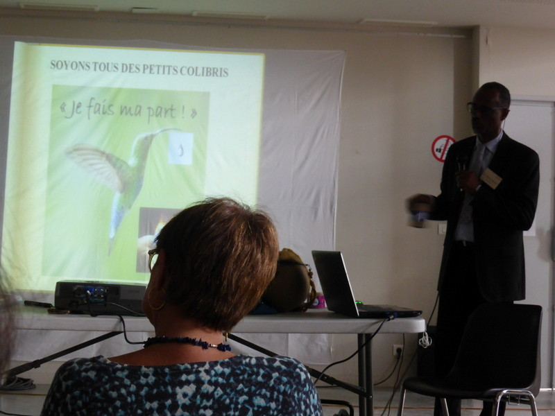 Belle conclusion pour cette conférence du Dr Henry Joseph - Guadeloupe