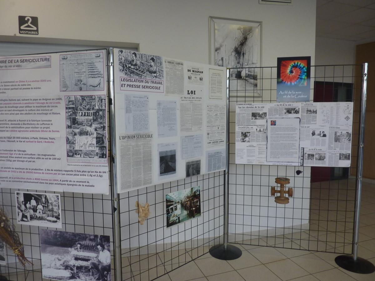 Certains documents ont été prêtés par le Musée de la Soie de Taulignan