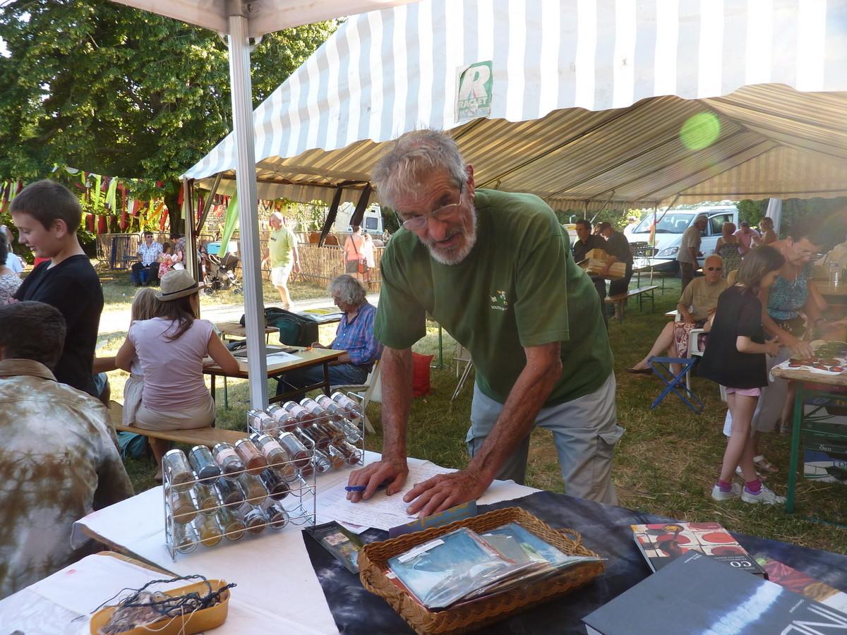 Robert Voge, organisateur de la Fête champêtre de Portes-les-Valence