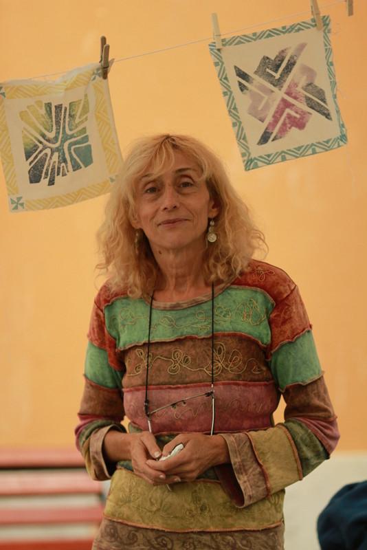 L'animatrice Franckie Micholin