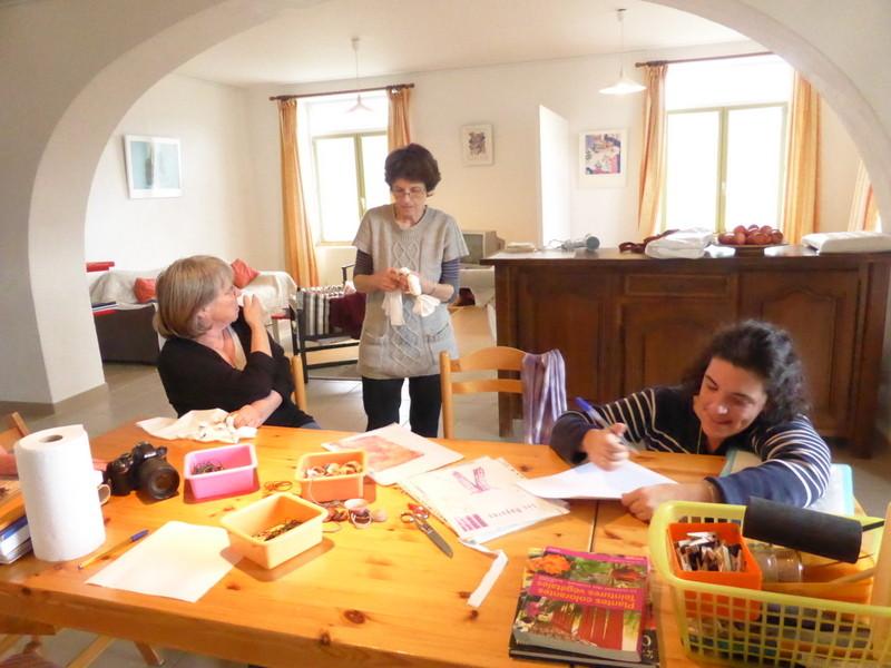 """Préparation aux techniques de teintures par réserves """"shibori"""""""