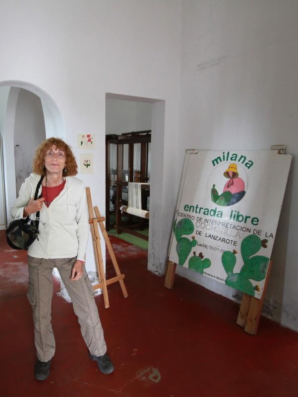 Visite au siège de l'association MILANA à Mala, au Nord-Est de l'île
