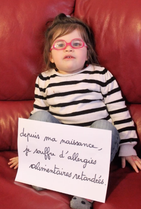 Lola et ses allergies multiples