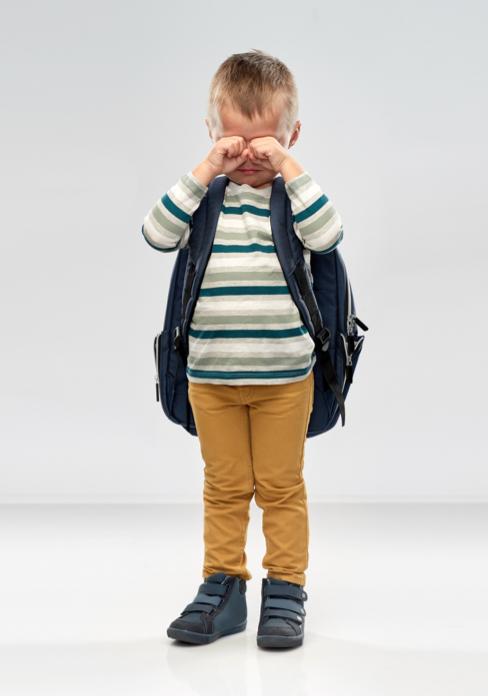 Angoisses de séparation d'un garçon de 3 ans