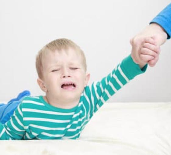 Angoisses de séparation d'un bébé