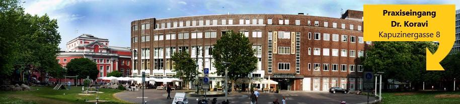 Fachärztezentrum - Essen Zentrum - Praxis Dr.Koravi