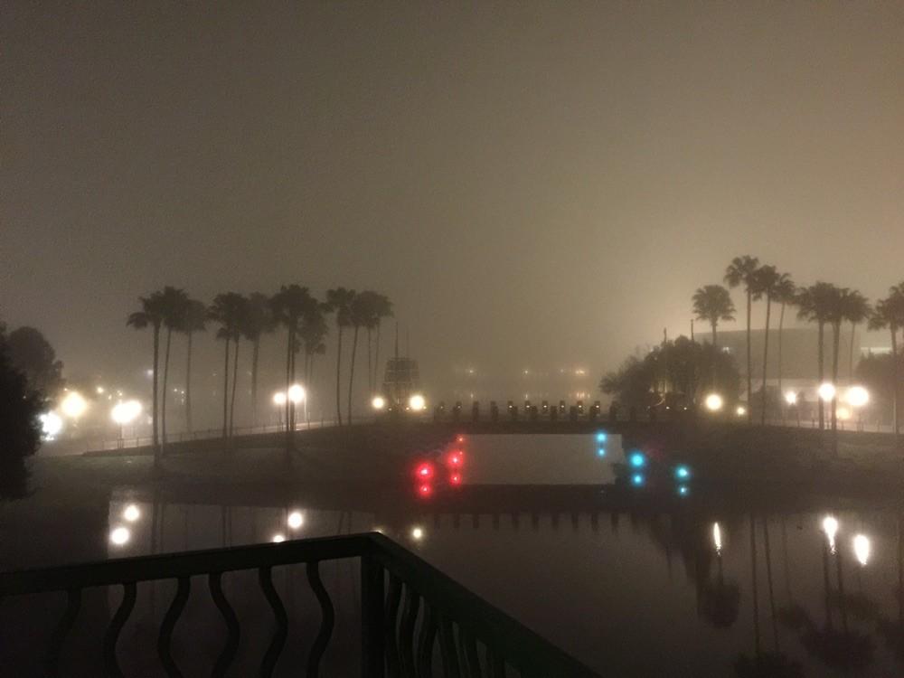 der nebel von heute früh löste sich dann gegen mittag doch noch auf