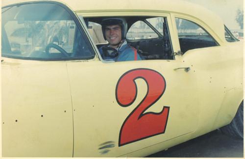 1957 Olds Sportsman beim Saugas Speedway