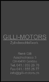 Zylinderschleiferei und Motoreninstandsetzung.          René Gilli arbeitet mit Amatrade zusammen.Ich finde, das kann sehr gut harmonieren
