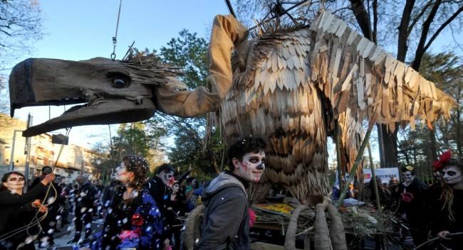Monsieur Carnaval - Toulouse - Le Vautour - 2017